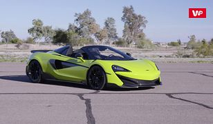 McLaren 600LT na torze. Auto bliskie perfekcji i beznamiętnie skuteczne