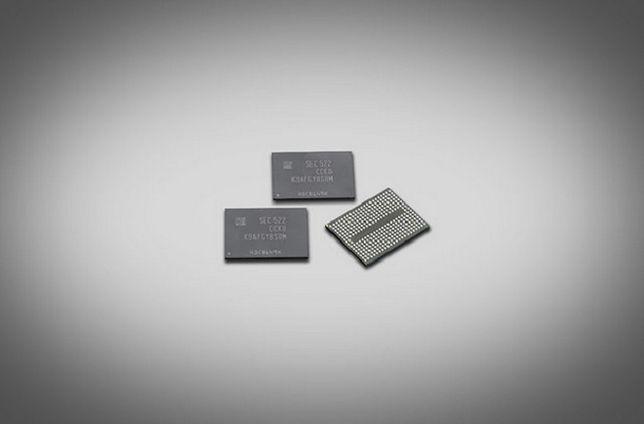 Samsung przedstawia pierwszą 256 gigabitową pamięć flash 3D V NAND