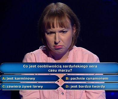 Patrycja kontra pytanie o sardyński ser casu marzu
