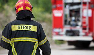 Strażacy usuwają straty spowodowane trąbą powietrzną