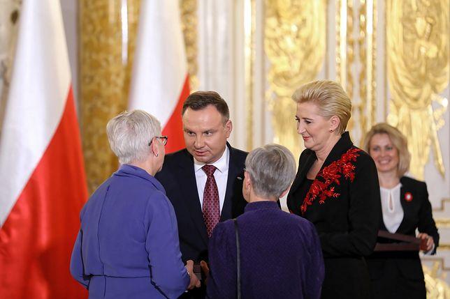 Krewni wybitnych Polaków odebrali Ordery Orła Białego z rąk Prezydenta RP