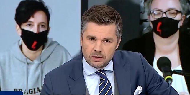 """Michał Rachoń o """"ataku"""" na dziennikarkę TVP Info"""