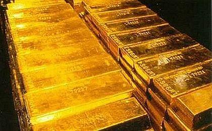 Złoto beneficjentem zamieszania na franku