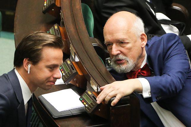 Wybory 2020 r. Krzysztof Bosak chce wpisania Antify na listę organizacji terrorystycznych