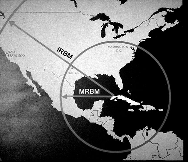 Kryzys kubański - twarda postawa Kennedy'ego