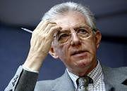 Ekonomista Mario Monti, premier Włoch, były komisarz ds. rynku wewnętrznego