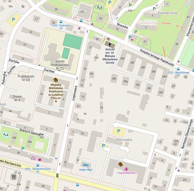Organizacja ruchu na OpenStreetMap