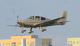 Awaryjne lądowanie awionetki (zdj. ilustracyjne)