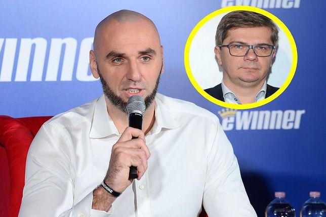 Marcin Gortat skrytykował Sylwestra Latkowskiego.