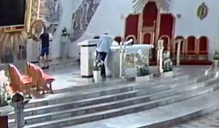Skandal w kościele w Starachowicach. Libacja przed ołtarzem