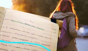Zuzanna nie bez powodu pokazała zadanie domowe córki.