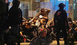 Policja zatrzymała 400 osób, które protestowały w Hongkongu