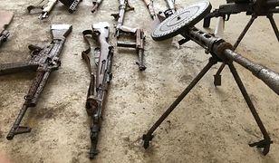 Braniewo. Policja zabezpieczyła nielegalną broń z okresu II wojny światowej