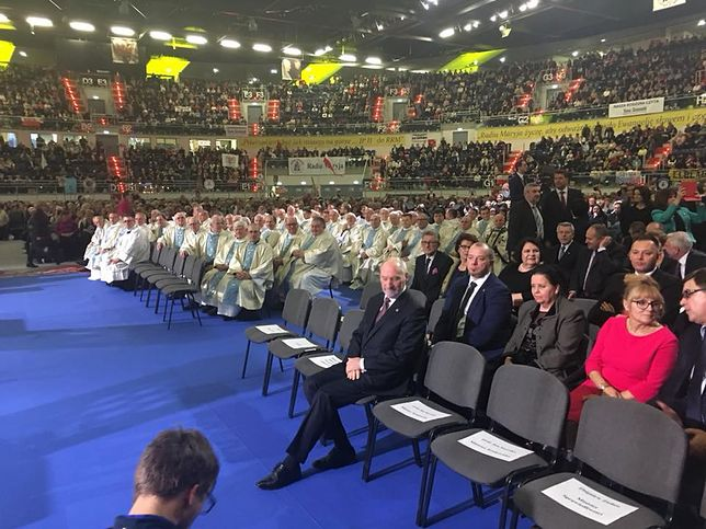 Antoni Macierewicz przybył jako pierwszy i czekał na pozostałych