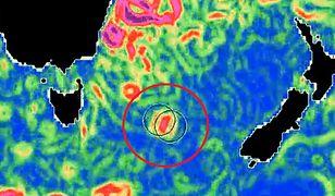 Zdjęcia satelitarne ukazują powstawanie wirów