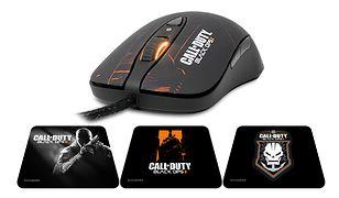 SteelSeries Call of Duty: Black Ops II - myszki i podkładki dla graczy