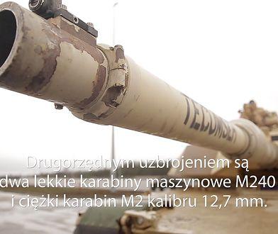 M1 Abrams w Polsce. Tymi czołgami jeździ US Army w Polsce