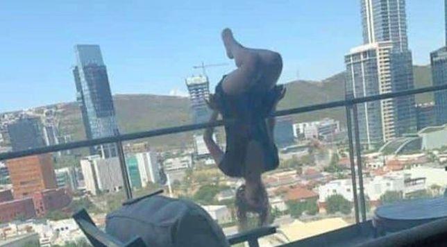 Meksyk. Joga na balkonie mogła doprowadzić do tragedii
