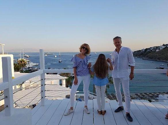 Odpoczywają w Grecji razem z córką