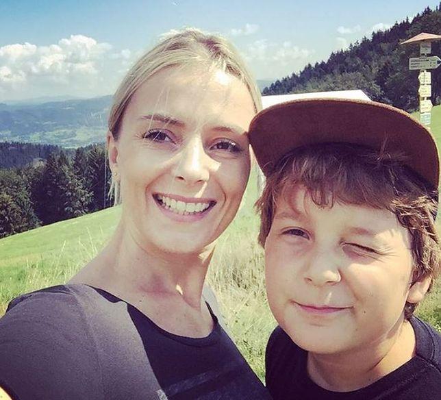 Halina Mlynkova pokazała zdjęcie syna