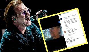 """""""Mała pocztówka z Dublina"""" - tak zaczyna piosenkę Bono"""