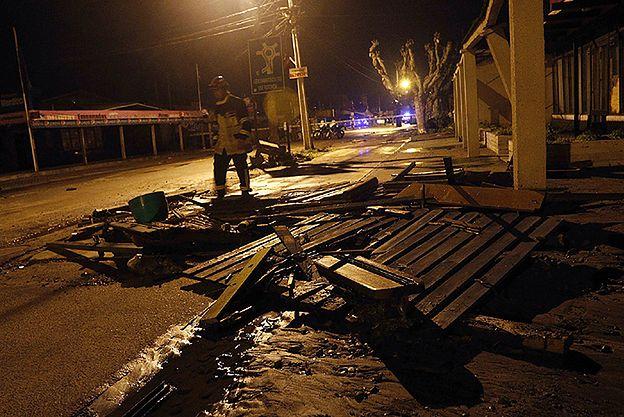 Potężne trzęsienie ziemi u wybrzeża Chile. Alarm tsunami na Pacyfiku