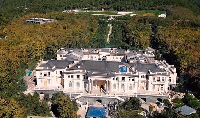 Pałac w Gelendżyku to największa prywatna posiadłość w Rosji