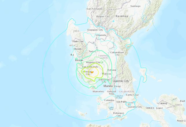Trzęsienie ziemi na Filipinach. Zginęło co najmniej 5 osób