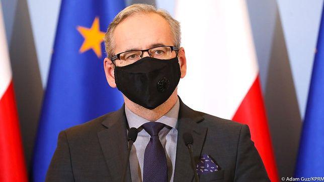 Minister zdrowia Adam Niedzielski zapowiada zmianę testowania