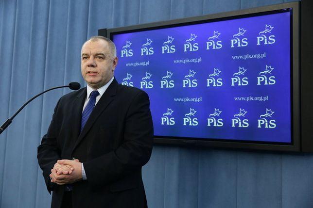 Jacek Sasin o debacie w PE i manifestacjach 13 grudnia