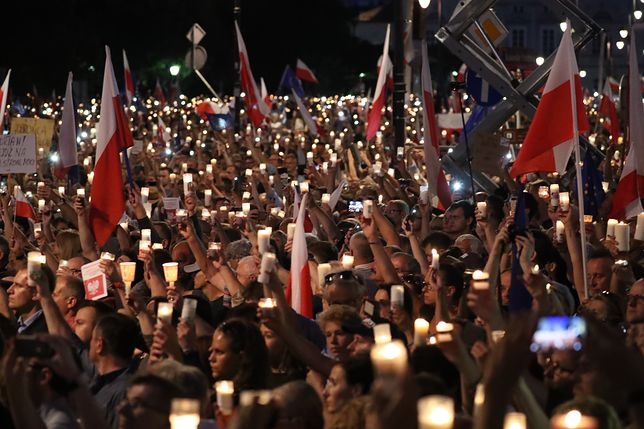 Kolejny dzień protestów. Jesteśmy w tłumie i relacjonujemy wydarzenia