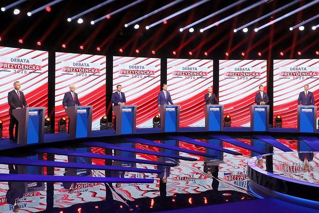 Wybory 2020. Debata w TVP.  11 kandydatów i pięć pytań
