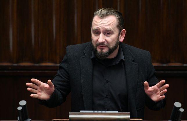 """""""To jest jakaś lekcja religii!"""". Liroy-Marzec oburzony posiedzeniem komisji"""