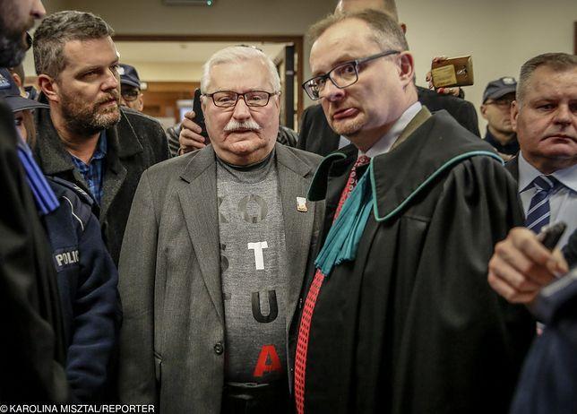 W czwartek Lech Wałęsa w sądzie spotkał się z Jarosławem Kaczyńskim