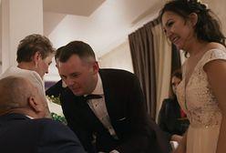 """Wzruszający moment na ślubie Kasi i Pawła ze """"Ślubu od pierwszego wejrzenia"""". Polały się łzy"""