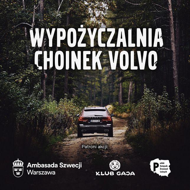 """Volvo podsumowuje akcję """"Wypożyczalnia Choinek"""""""