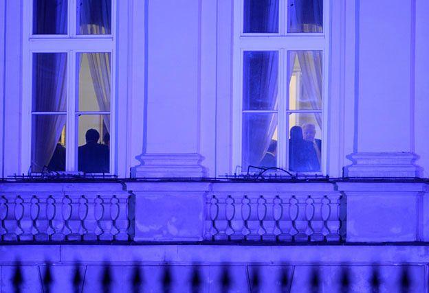 Wieczorne spotkanie u prezydenta. Andrzej Duda rozmawiał z parlamentarzystami PiS