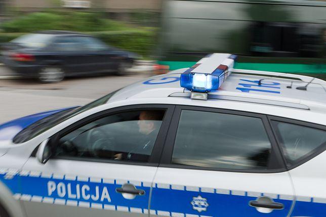 Wypadek w trakcie ucieczki przed policją