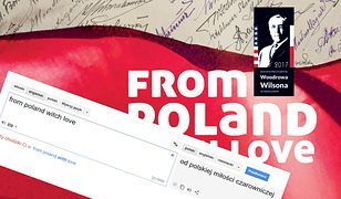 """Autorowi informacji o wystawie """"From Poland with love"""" wkradł się mały błąd."""
