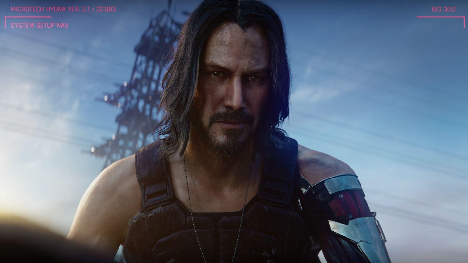 """Keanu Reeves wystąpi w polskiej grze """"Cyberpunk 2077"""""""