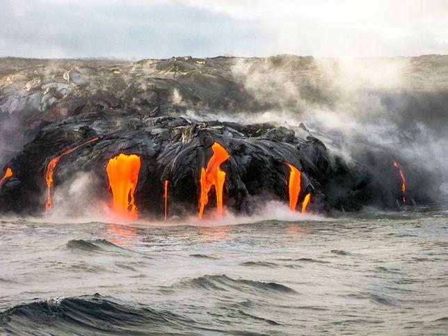 Przerażające zdjęcia z Hawajów. Trwa erupcja wulkanu Kilauea