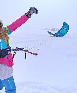 """Snowkite. """"15 minut przeszkolenia wystarczy, by przerzucić się z wody na śnieg"""""""