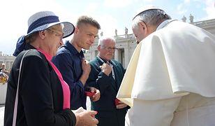 Tomasz Komenda zapewnia, że spotkania z papieżem Franciszkiem nie zapomni do końca życia