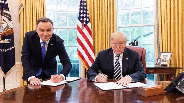 Eugeniusz Noworyta: Fort Trumpa i fundusz Trumpa