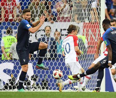 W finałowym spotkaniu Francji z Chorwacją padło aż sześć bramek