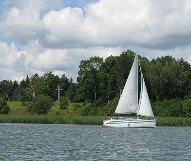 Giżycko jest nazywane stolicą żeglarstwa w Polsce