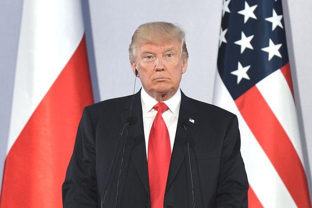 Donald Trump wysłał depeszę do Andrzeja Dudy
