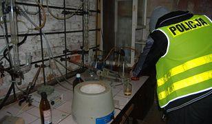 W Korzeńsku koło Rawicza odkryto laboratorium, gdzie produkowano amfetaminę