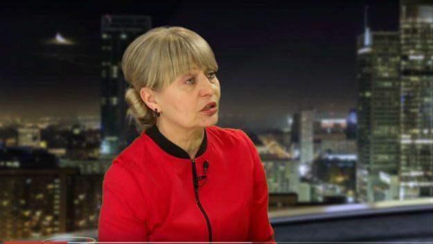Małgorzata Raczyńska-Weinsberg w swoim programie na YouTube