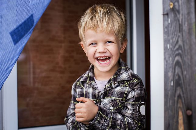 W dobrze dobranych ubrankach mały chłopiec będzie czuł się wygodnie